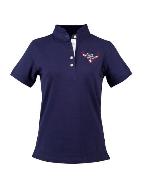 Pfiff-Polo-shirt-blauw