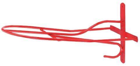 Kerbl-Zadelhouder-Engels-model-rood-54-cm