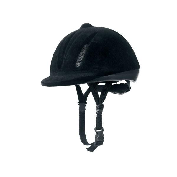 Kerbl-Cap-Easyfit-zwart-56-68-cm