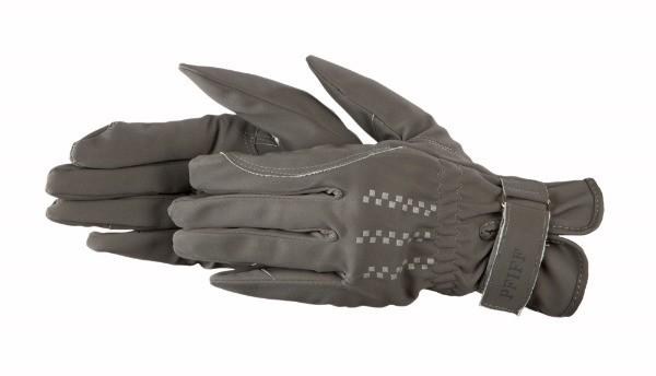 Pfiff-Handschoenen-Domy-wedstrijd-kunstleder-grijs