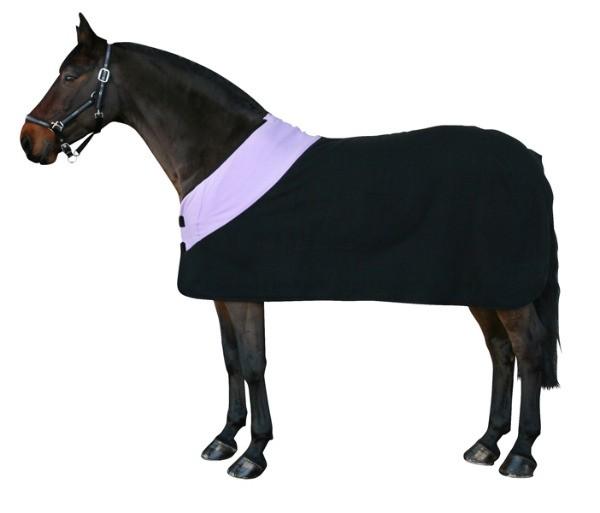 Pfiff-Fleecedeken-zwart