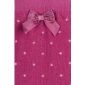USG-Kniekous-met-stippen-en-strik-pink-roze