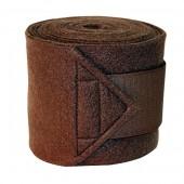 Kerbl-Bandage-Fleece-bruin-4st-12cm-x-3m